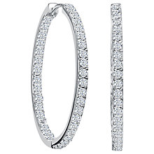 Buy Jools by Jenny Brown Medium Narrow Hoop Earrings Online at johnlewis.com