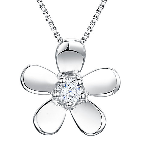 Buy Jools by Jenny Brown Flower Pendant Necklace Online at johnlewis.com