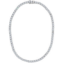 Buy Jools by Jenny Brown 5mm Round Tennis Necklace Online at johnlewis.com