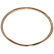 Buy Melissa Odabash Crystal Set Oval Bangle Online at johnlewis.com