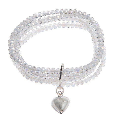 Buy Martick 4 Row Murano Heart Bracelet Online at johnlewis.com