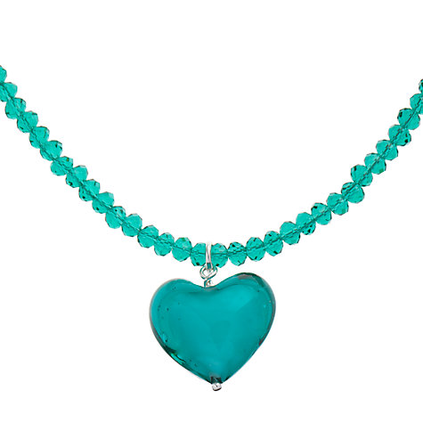 Buy Martick Murano Glass Heart Pendant Necklace Online at johnlewis.com