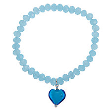 Buy Martick Murano Glass Heart Bracelet Online at johnlewis.com