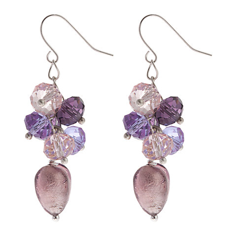 Buy Martick Heart Cluster Earrings Online at johnlewis.com