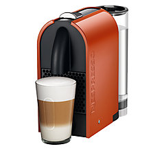 Buy Nespresso U and Aeroccino3 Coffee Machine by Magimix Online at johnlewis.com