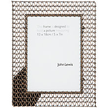 "Buy John Lewis Chain Photo Frame, 5 x 7"" (13 x 18cm) Online at johnlewis.com"