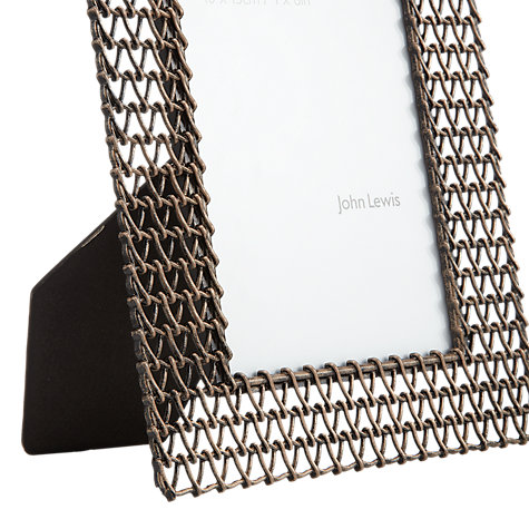 "Buy John Lewis Chain Photo Frame, 4 x 6"" (15 x 10cm) Online at johnlewis.com"