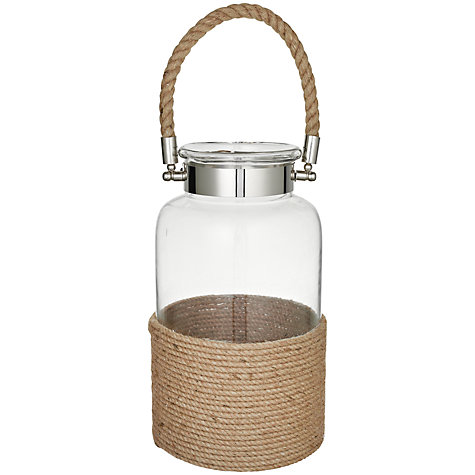 Buy John Lewis Rope Lantern, Large Online at johnlewis.com