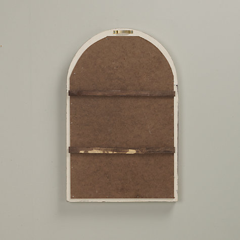 Buy Louvre Door Mirror, White Online at johnlewis.com