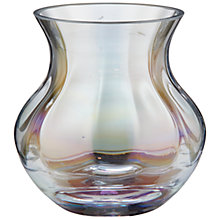 Buy John Lewis Lustre Pearlised Bud Vase Online at johnlewis.com