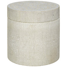 Buy John Lewis Cecilia Sandstone Box, Silver Online at johnlewis.com