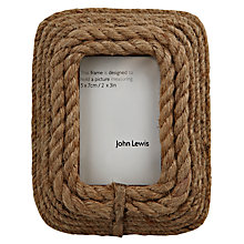 "Buy John Lewis Harbour Photo Frame, 2 x 3"" (5 x 8cm) Online at johnlewis.com"