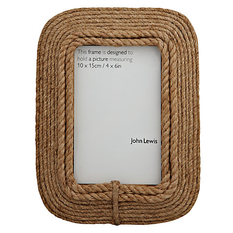"Buy John Lewis Harbour Frame, 4 x 6"" (15 x 10cm) Online at johnlewis.com"