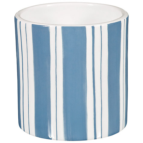 Buy John Lewis Marina Stripe Tealight Online at johnlewis.com