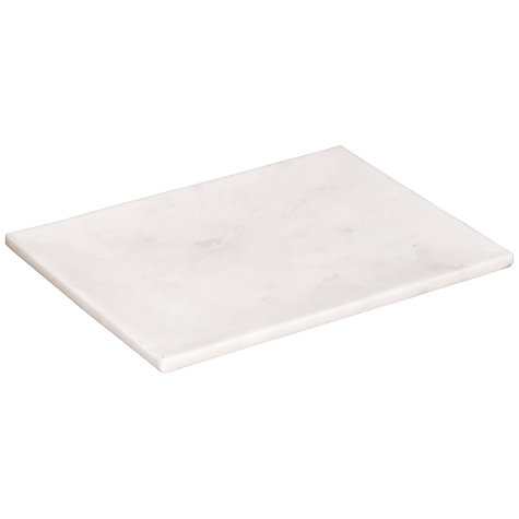 Buy John Lewis Croft Collection Marble Candle Plate, Small Online at johnlewis.com