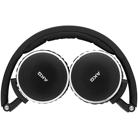 Buy AKG K490 Noise Cancelling On-Ear Headphones, Black/Silver Online at johnlewis.com