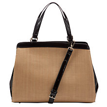 Buy John Lewis Shoulder Straw Bag, Natural Online at johnlewis.com