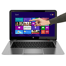 "Buy HP Spectre XT Touchsmart 15-4000ea Ultrabook, Intel i5, 1.7GHz, 4GB RAM, 500GB, 15.6"" Touch Screen, Beats Audio, Online at johnlewis.com"