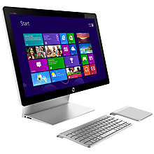 "Buy HP Spectre One 23-E000EA AIO Desktop, Intel Core i5, 2.9GHz, 4GB RAM, 1TB, NFC, 23.6"" Full HD Online at johnlewis.com"