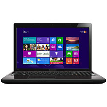 "Buy Lenovo G580 Laptop, Intel Core i7, 2.9GHz, 6GB RAM, 500GB, 15.6"", Brown Online at johnlewis.com"