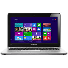"Buy Lenovo Ideapad U310 Ultrabook Laptop, Intel Core i3, 4GB RAM, 500GB+24GB SSD, 13.3"", Graphite Online at johnlewis.com"
