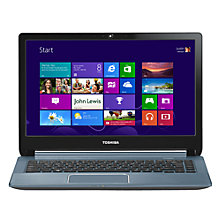"Buy Toshiba Satellite U940-11N Ultrabook, Intel Core i5, 1.7GHz, 6GB RAM, 750GB+32GB SSD, 14"", Silver Online at johnlewis.com"