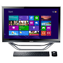 "Buy Samsung DP700A3D-A05 Desktop PC, Intel Core i3, 2.8GHz, 4GB RAM, 1TB, 23"" Touch Screen Online at johnlewis.com"