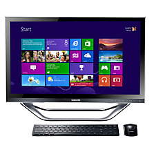 "Buy Samsung DP700A3D-S01 Desktop PC, Intel Core i5, 2.9GHz, 6GB RAM, 1TB & 23"" Touch Screen Online at johnlewis.com"