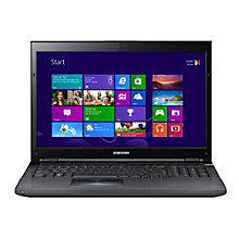 "Buy Samsung NP700G7C-S02 Laptop, Intel Core i7, 2.4GHz, 16GB RAM, 1.5TB, Blu-ray, 17.3"", Black Online at johnlewis.com"