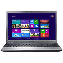 "Buy Samsung 350V5C-A06 Laptop, Intel Core i7, 2.4GHz, 8GB RAM, 1TB, 15.6"", Silver Online at johnlewis.com"