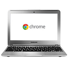 "Buy Samsung XE303C12-A01 Chromebook, Exynos 5250, 1.7GHz, Wi-Fi, 11.6"", Silver Online at johnlewis.com"
