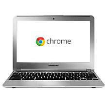 "Buy Samsung XE303C12-H01 Chromebook, Exynos 5250, 1.7GHz, Wi-Fi/3G, 11.6"", Silver Online at johnlewis.com"