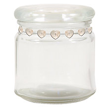 Buy East of India Button Detail Jar, Small Online at johnlewis.com