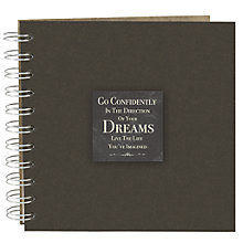 Buy East of India Dreams Scrapbook, Black Online at johnlewis.com