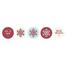 Buy East of India Round Stickers, Pack of 40, Multi Online at johnlewis.com