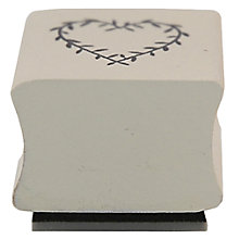 Buy East of India Ink Stamp, Heart Online at johnlewis.com
