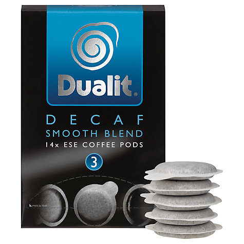 Buy Dualit 15141 Smooth Decaf Pods, Pack of 50 Online at johnlewis.com
