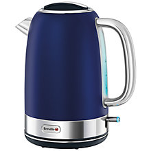 Buy Breville Opula Collection Kettle and 4-Slice Toaster, Ink Blue Online at johnlewis.com