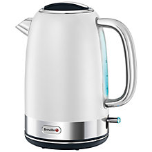 Buy Breville Opula Collection Kettle and 4-Slice Toaster, Bone China White Online at johnlewis.com