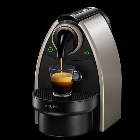 Buy Nespresso XN2140 Essenza Coffee Machine by Krups, Earth Online at johnlewis.com