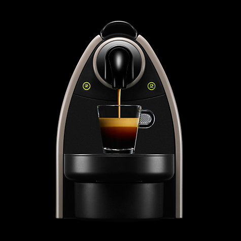 Buy Nespresso XN2150 Essenza Coffee Machine and Aeroccino by Krups, Earth Online at johnlewis.com