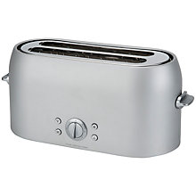 Buy Sebastian Conran for John Lewis 4-Slice Toaster, Silver Online at johnlewis.com