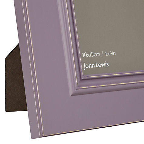 "Buy John Lewis New Distressed Photo Frame, Wisteria, 4 x 6"" (10 x 15cm) Online at johnlewis.com"