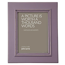 John Lewis New Distressed Photo Frame