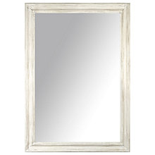 Buy John Lewis Distressed Mirror, Cream, 102 x 72cm Online at johnlewis.com