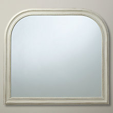 Buy John Lewis Distressed Overmantel Mirror, 95 x 104cm Online at johnlewis.com