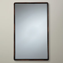 Buy John Lewis Rectangle Iron Mirror, Small Online at johnlewis.com