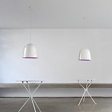 Buy Flos Can Can Pendant, White/ Violet Online at johnlewis.com