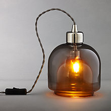 Buy John Lewis Ambience Two-Layer Glass Table Lamp Online at johnlewis.com