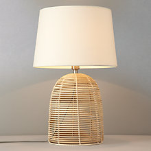 Buy John Lewis Belle Light Bamboo Table Lamp Online at johnlewis.com